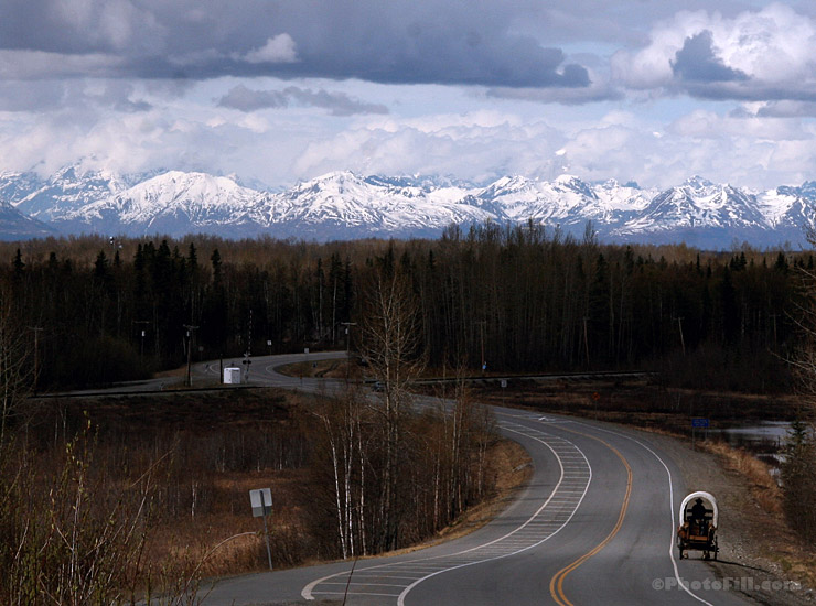 Denali View in Talkeetna, Alaska