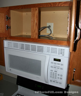 House Project #3: Install Microwave | PhotoFill News